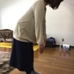前かがみになれない ぎっくり腰のメカニズム② ・運動不足にご注意☆同じ姿勢でのお仕事と冷えの時期!腱引き施術をさせて頂きました。。