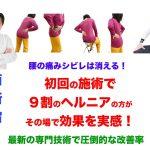 4/1(日)表参道・ 4/3(火) 西新宿  でヘルニア改善施術 四十肩 ばね指改善等の施術受付をさせて頂きます。2018年