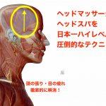 お天気痛 5月病にも効く!頭の張りと目の疲れを徹底的に解消①−3 lauを習得 頭部ケア専門士テクニック